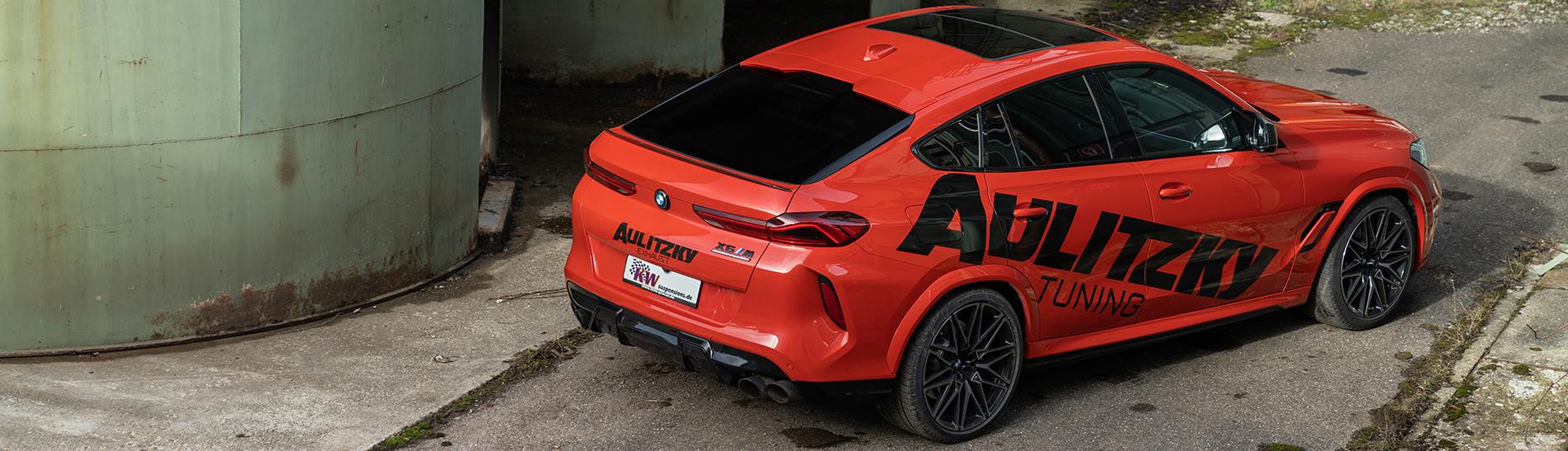 Der Fahrwerkhersteller KW automotive hat für den BMW X5M (F95) und BMW X6M (F96) inklusive der 625 PS starken Competition-Modelle das KW Gewindefahrwerk Variante 4 im Lieferangebot.