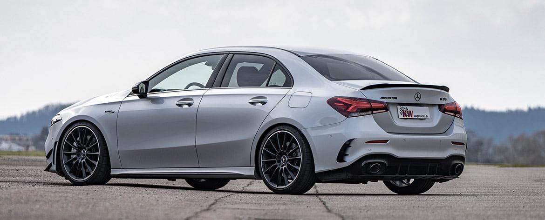 Für alle Modelle der Stufenhecklimousine, vom Mercedes-AMG A 35 4MATIC über A 250 e Plug-in-Hybrid bis zum A180, haben wir die KW Gewindefahrwerke mit Federbeinen aus Edelstahl im Lieferprogramm.